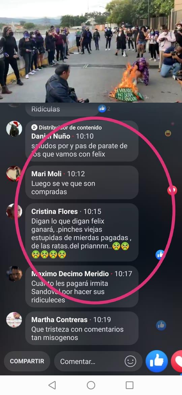 Amenazan a feministas que exigen justica para víctimas de caso Félix Salgado 3