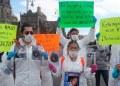 protestan por desaparecida