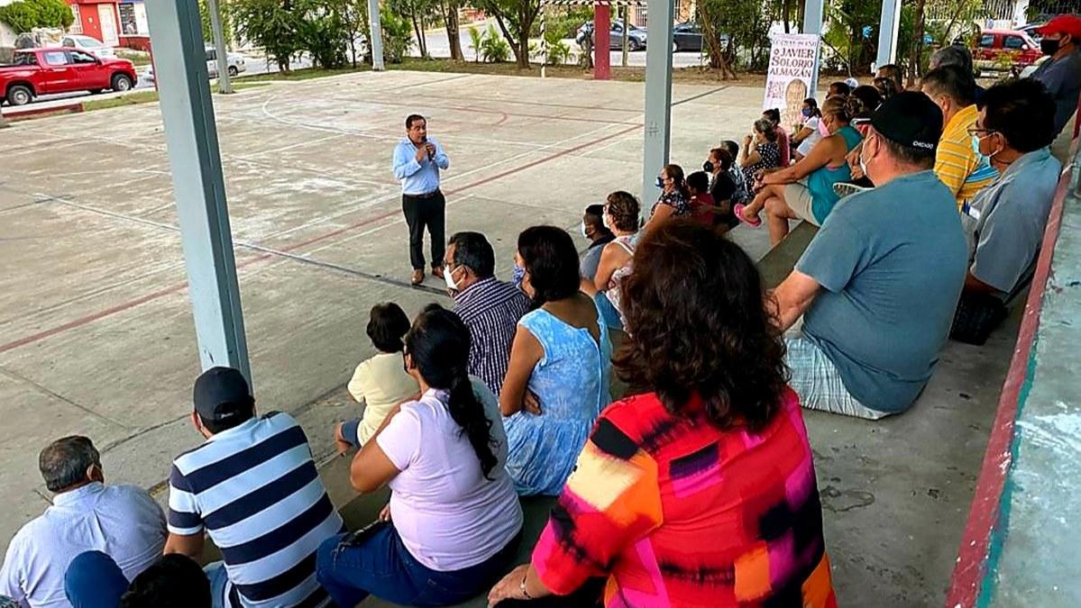 El cambio verdadero en Acapulco es con Javier Solorio, dicen vecinos de Solidaridad Milenia 1