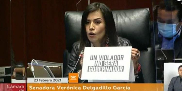 protesta contra candidatura de Félix