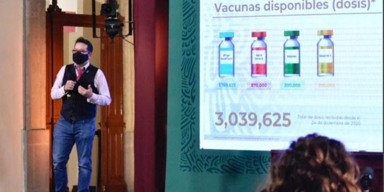 Millón y medio de vacunas de SinoVac y Pfizer llegarán a México 1