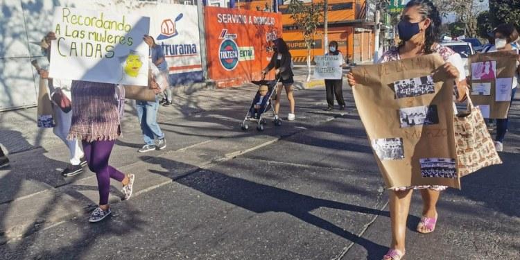 Marchan en Chilpancingo para recordar a las mujeres caídas por la violencia 1