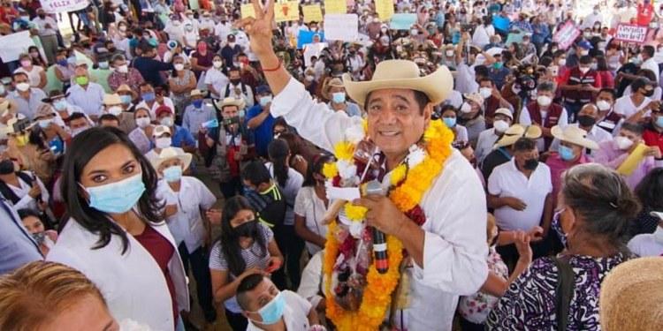 Félix Salgado: campaña de cinismo, mezcal y fiesta para tapar culpas 1