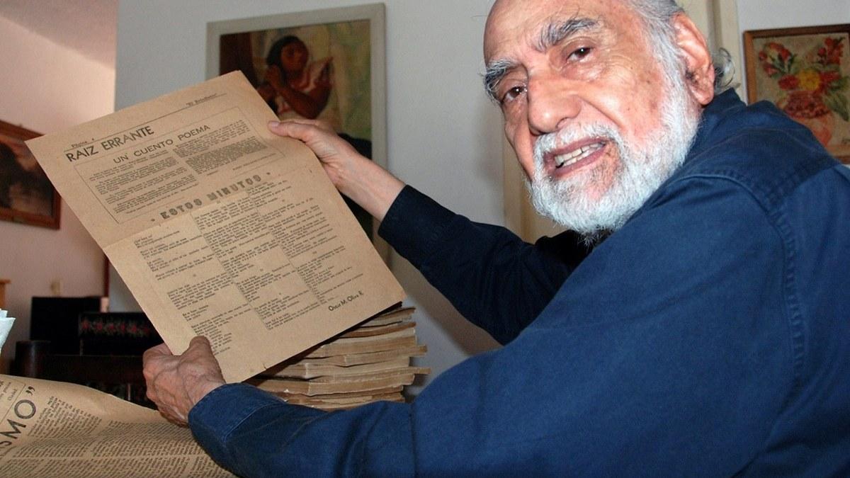 Óscar Oliva: los poetas por llegar a la concisión están llegando a la perdición 4