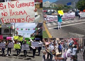 Félix Salgado boicotea turismo de Semana Santa; anuncian marcha que cierra Chilpancingo 8