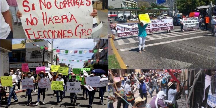 Félix Salgado boicotea turismo de Semana Santa; anuncian marcha que cierra Chilpancingo 1