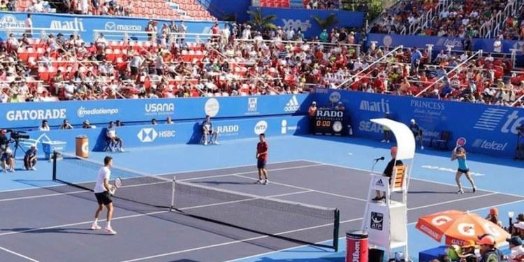 Pese a Covid, abierto de tenis se jugará con público en Acapulco 1