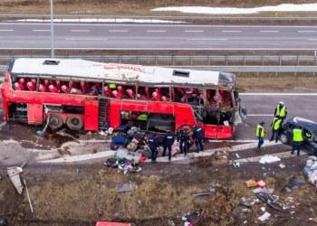 accidente Polonia