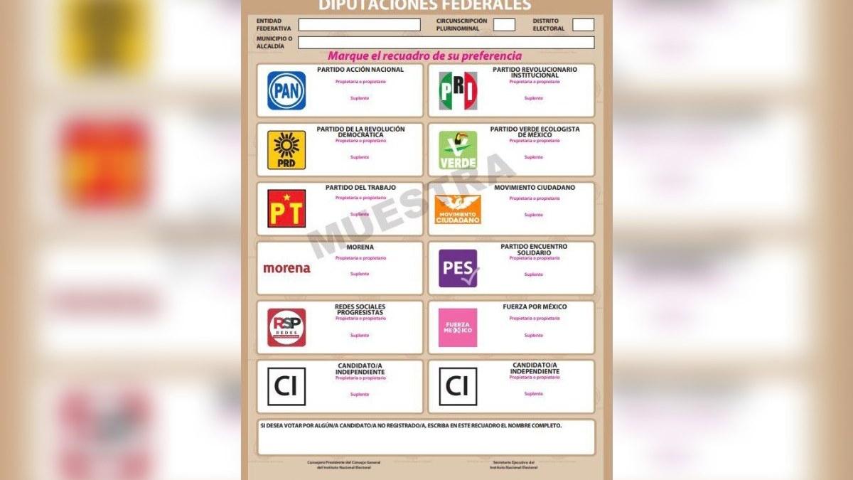 TEPJF avala boleta electoral del INE para elecciones de 2021; PT se inconforma 2