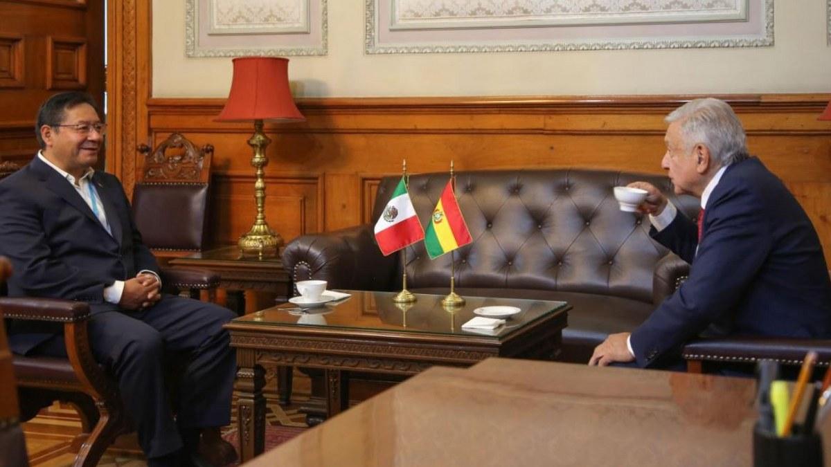 """""""Nunca lo voy a olvidar"""": Presidente de Bolivia a AMLO por haberle dado asilo 1"""