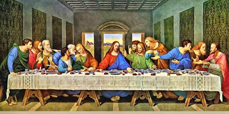 Museo en España exhibe el mantel de la Última Cena de Jesús y sus discípulos 1