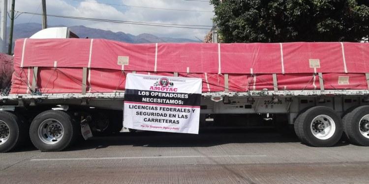 protesta transportista