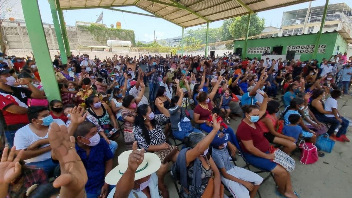 Movimiento Campesino de Sebastián de la Rosa va con Mario Moreno para gobernador 2