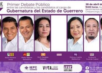 IEPC anuncia primer debate a gubernatura de Guerrero, Morena no tiene candidato 4