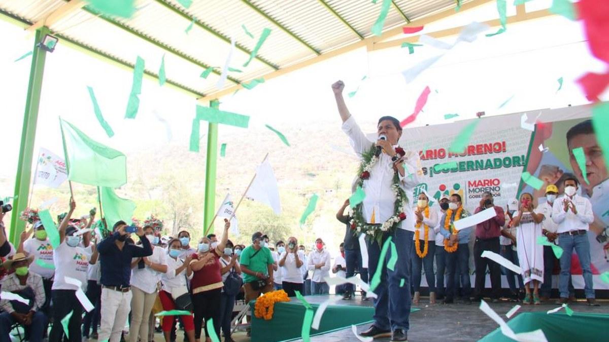 Mario Moreno: un proyecto que suma lo mejor de Guerrero todos los días; alianza PRI-PRD 2