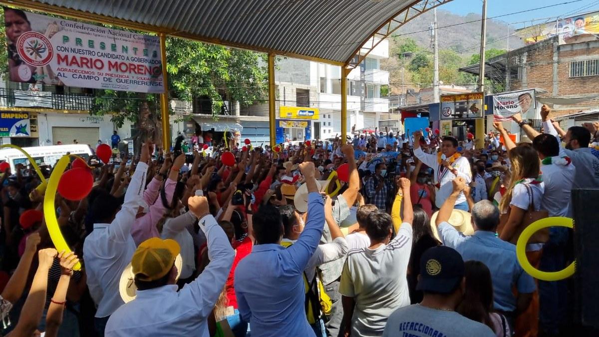 Guerrero: Alianza PRI-PRD con más de 200 mil votos arriba de Morena, afirma Ángel Aguirre 5