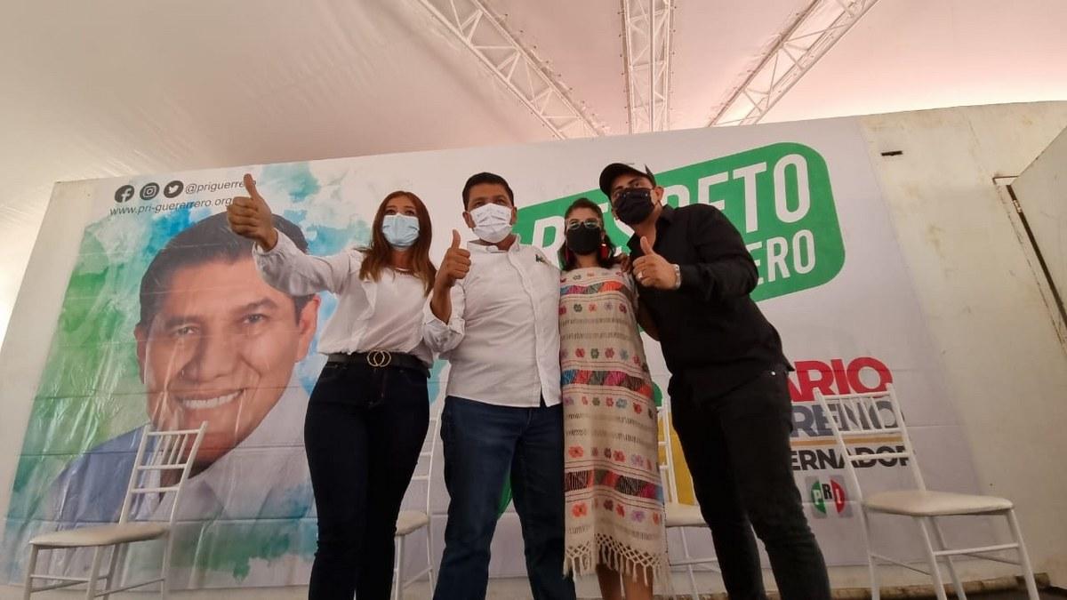 'Vamos a ganar en las urnas', asegura candidato de la alianza PRI-PRD, Mario Moreno 1