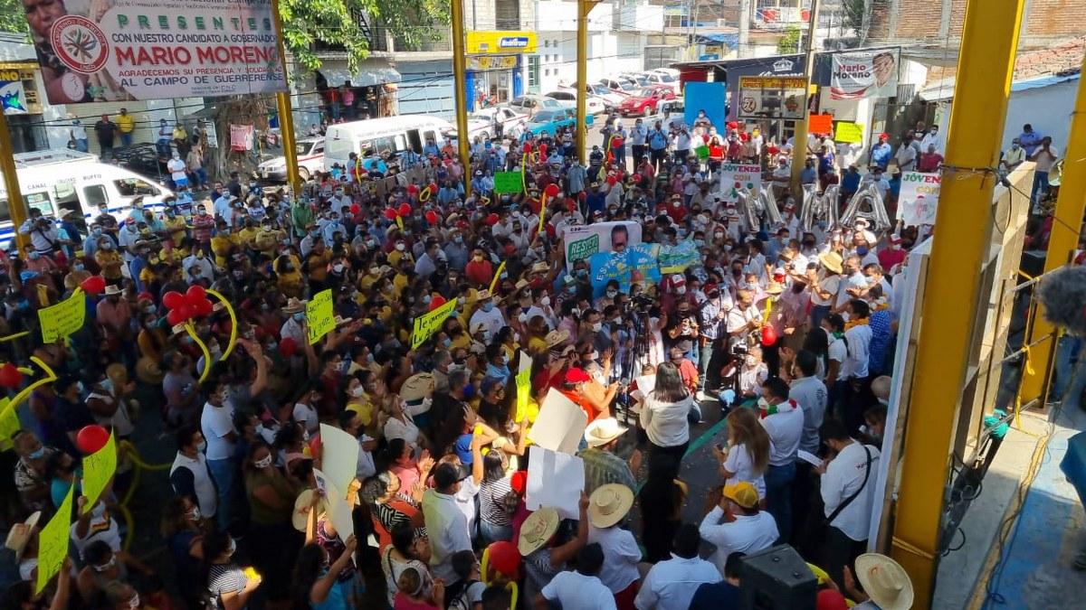 Guerrero: Alianza PRI-PRD con más de 200 mil votos arriba de Morena, afirma Ángel Aguirre 4