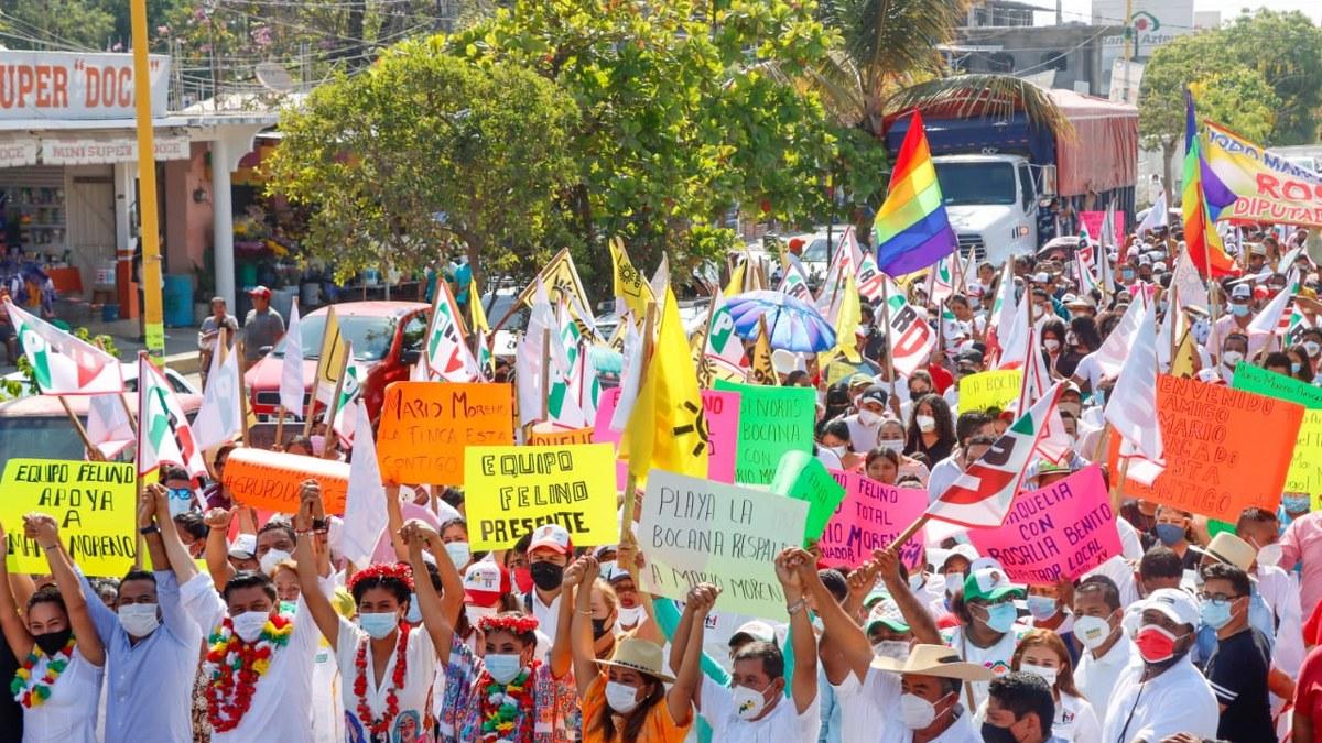 Alianza PRI-PRD se consolida en Montaña y Costa Chica; Mario Moreno toca corazones 6
