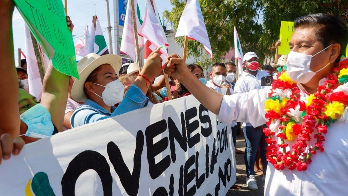 Alianza PRI-PRD se consolida en Montaña y Costa Chica; Mario Moreno toca corazones 4