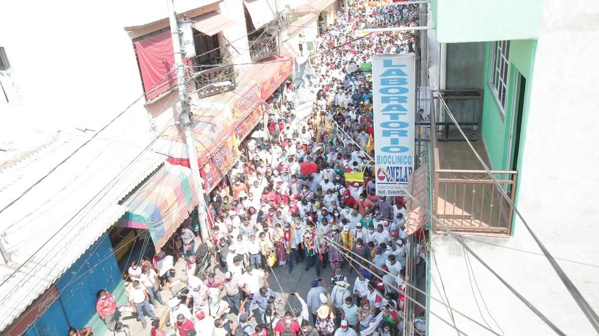 Mario Moreno será el gobernador de la salud; miles lo respaldan en Ometepec 2