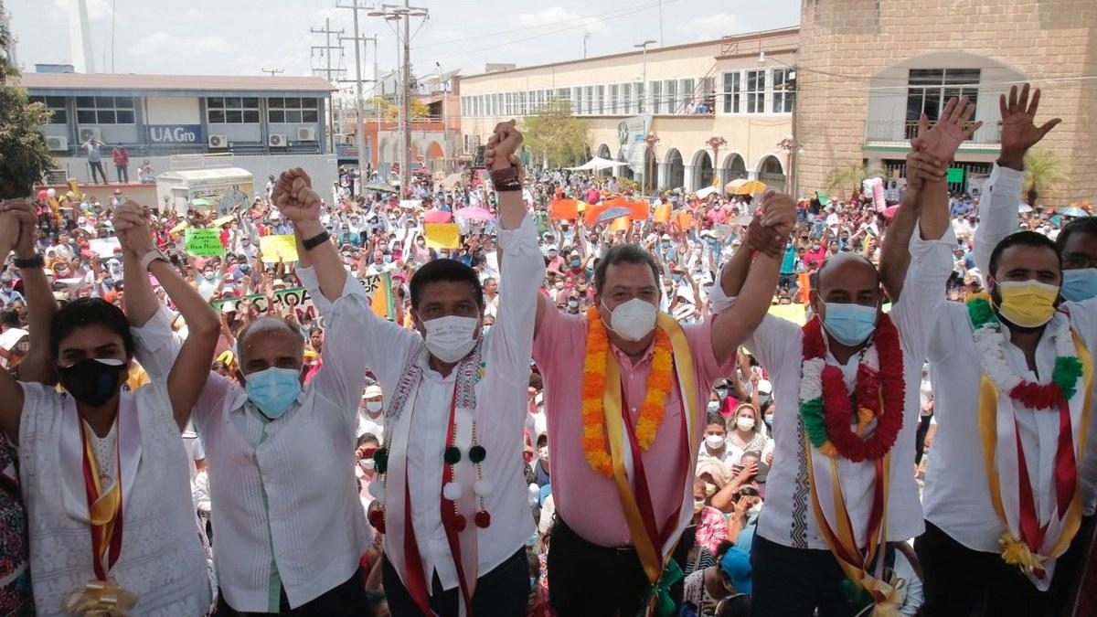 Mario Moreno será el gobernador de la salud; miles lo respaldan en Ometepec 3