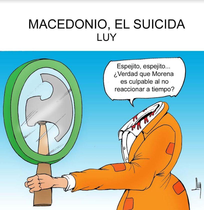 Macedonio, el suicida   Luy 4