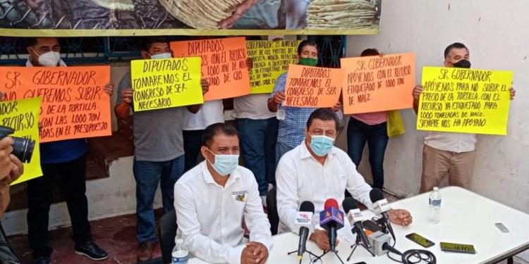 Empresarios advierten aumento en el precio de la tortilla si no se libera el presupuesto 1