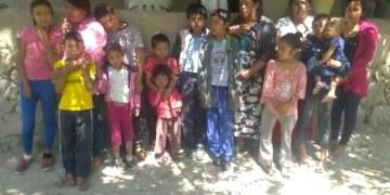 familia refugiada