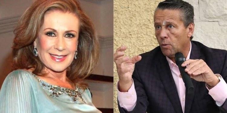 """Muerto de hambre"": Laura Zapata se lanza contra Alfredo Adame 1"