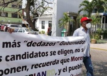 Militantes de Morena en Tabasco, demandan la renuncia de Mario Delgado 9