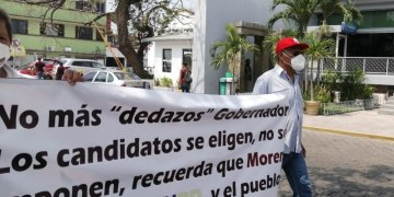 Militantes de Morena en Tabasco, demandan la renuncia de Mario Delgado 26