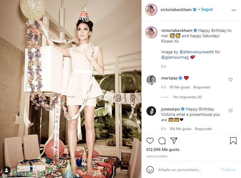 ¡Diosa! Victoria Beckham ccelebra sus 47 años luciendo de 20 1