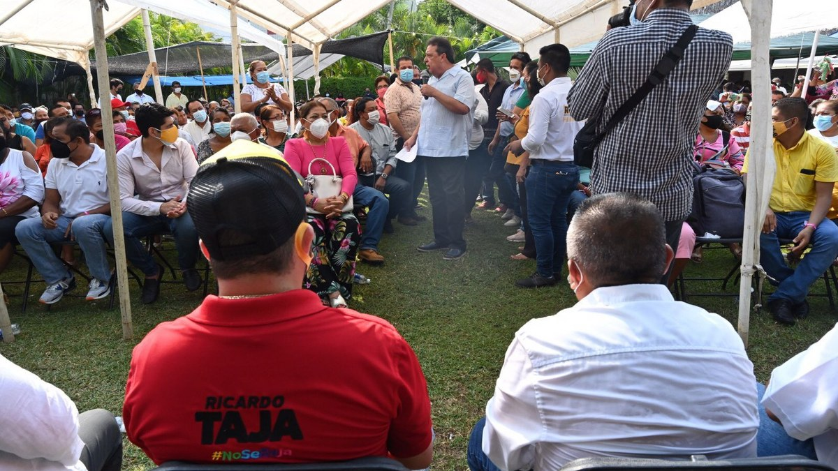Acapulco está en ruinas y la gente sin empleo ni dinero por el mal gobierno de Morena: Taja 1