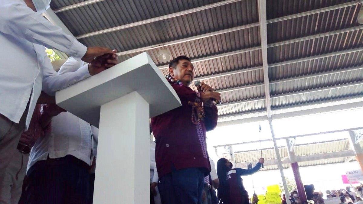 Félix Salgado sigue en campaña con prestanombre; confirma gasto de un millón de pesos 2