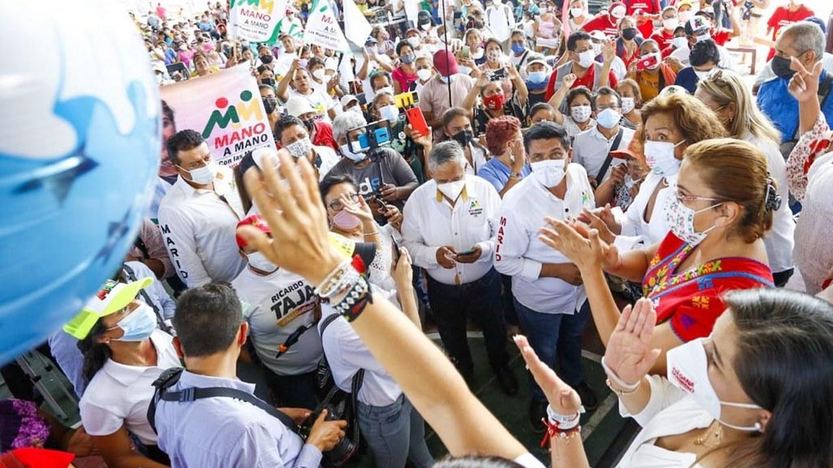Mujeres votarán por Mario Moreno; en Acapulco anuncia programa de vivienda digna 1