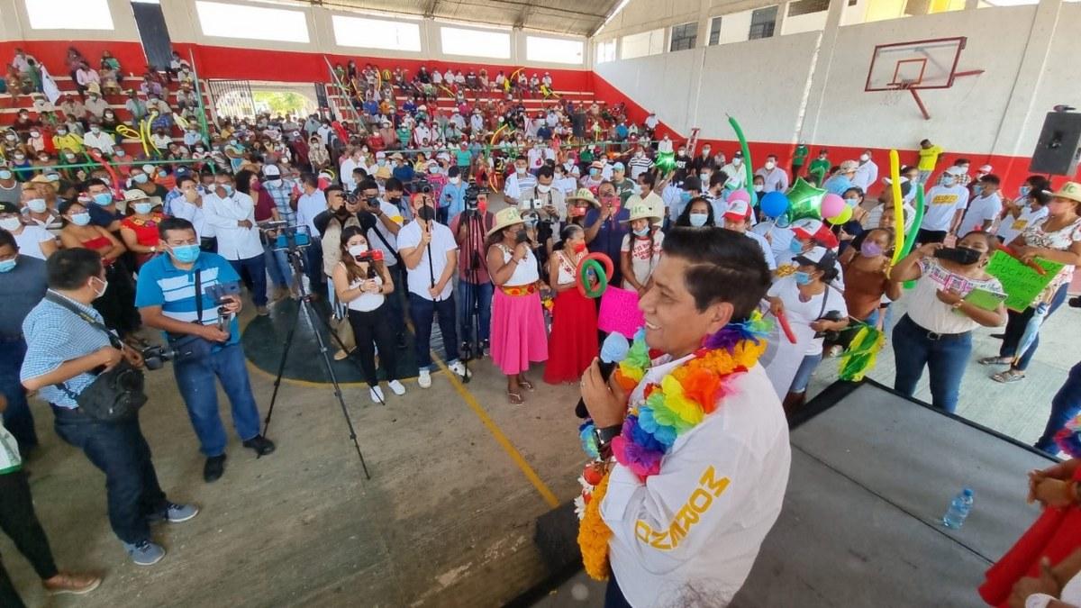"""""""Vamos a ganarle a quien nos pongan"""", afirma Mario Moreno, candidato del PRI-PRD 3"""