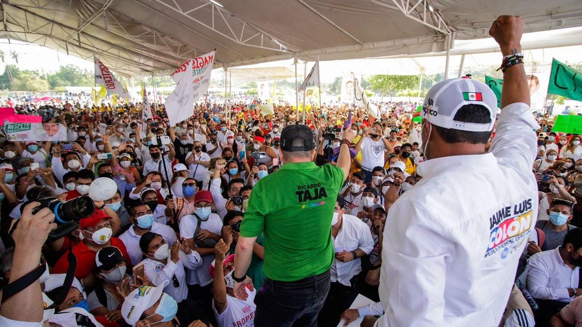 Ricardo Taja cierra campaña con enorme ventaja en los 7 distritos electorales de Acapulco 3