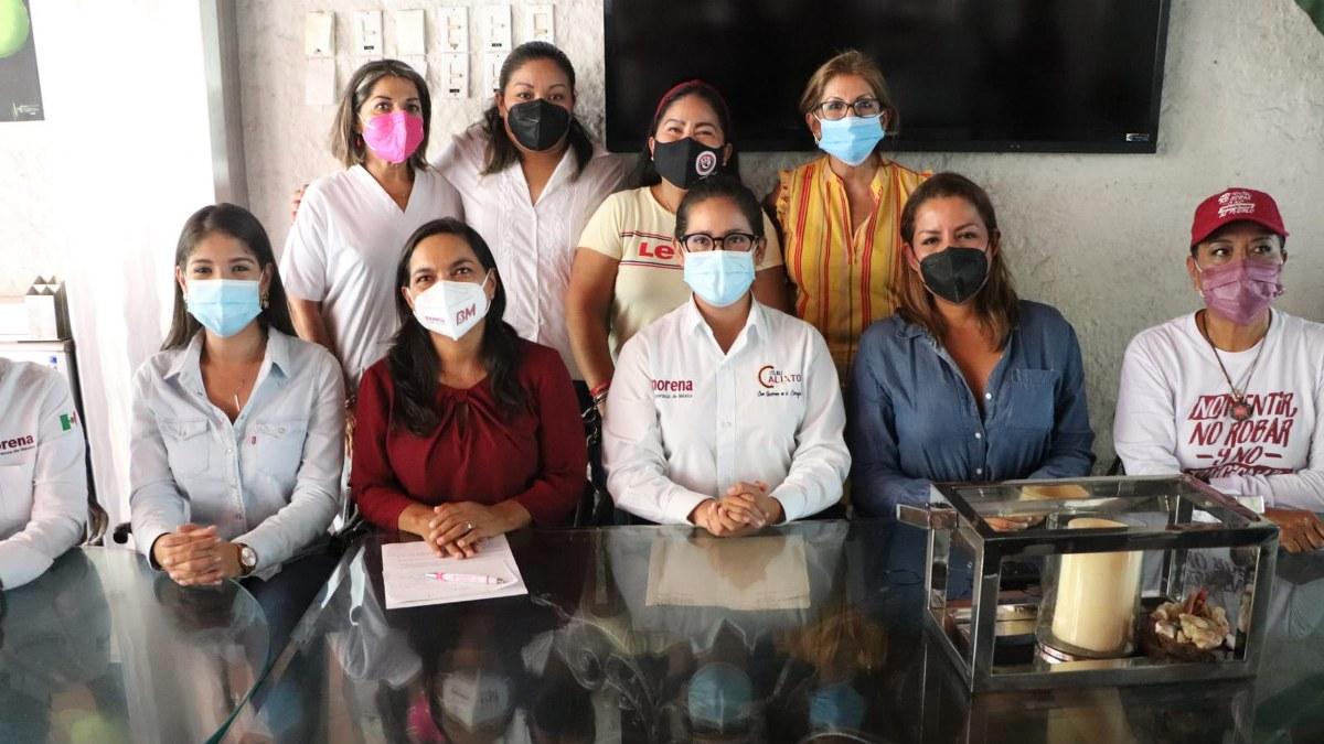 Candidatas de Morena acusan a Taja de misógino y defienden a Félix Salgado acusado de violación sexual 2
