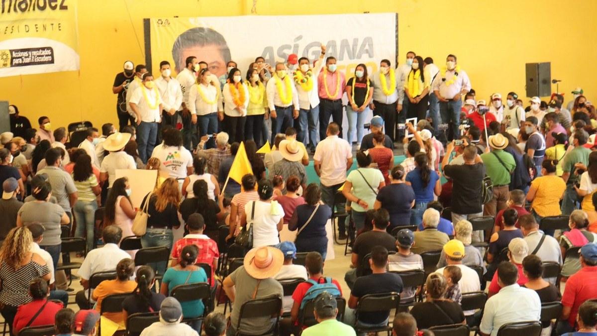 """""""Vamos a llenar las urnas de votos; Guerrero merece un mejor futuro"""": Mario Moreno 2"""