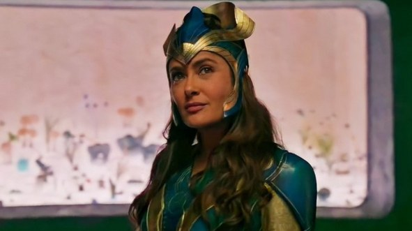 """¡Espectacular! Marvel lanza primer vistazo de """"Eternals"""" protagonizada por Salma y Angelina 1"""