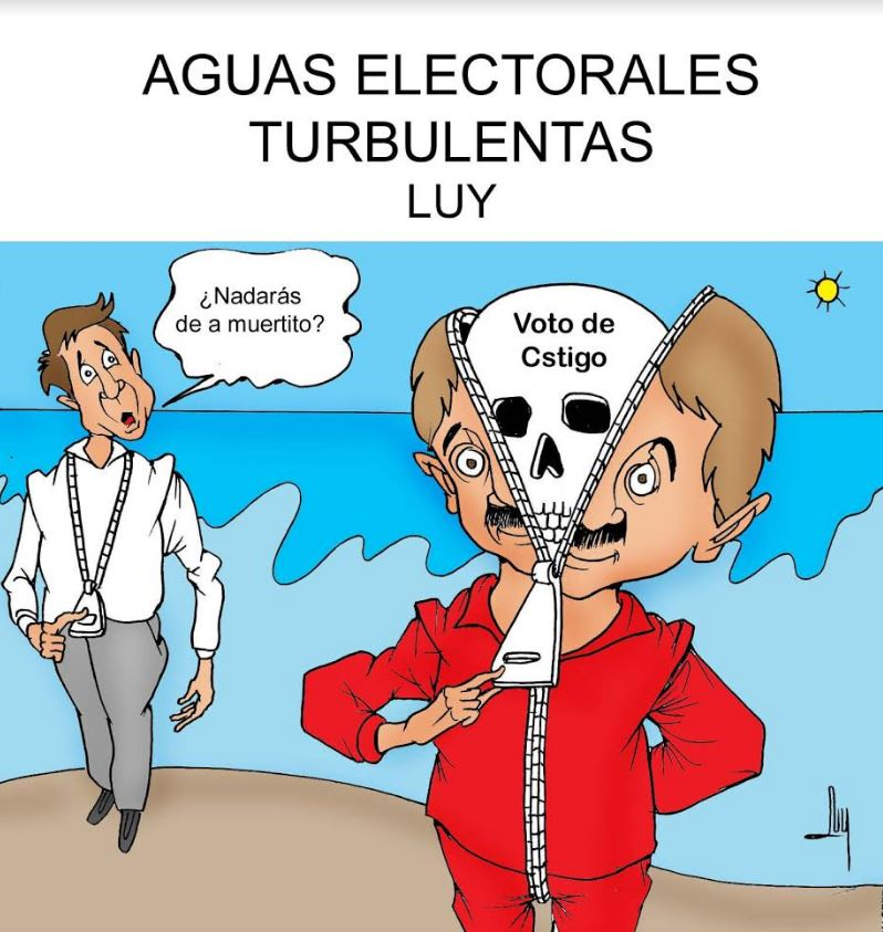 Aguas electorales turbulentas | Luy 2