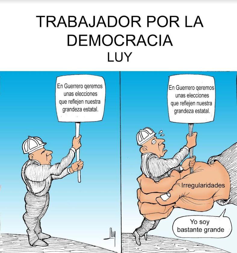 Trabajador por la democracia   Luy 2