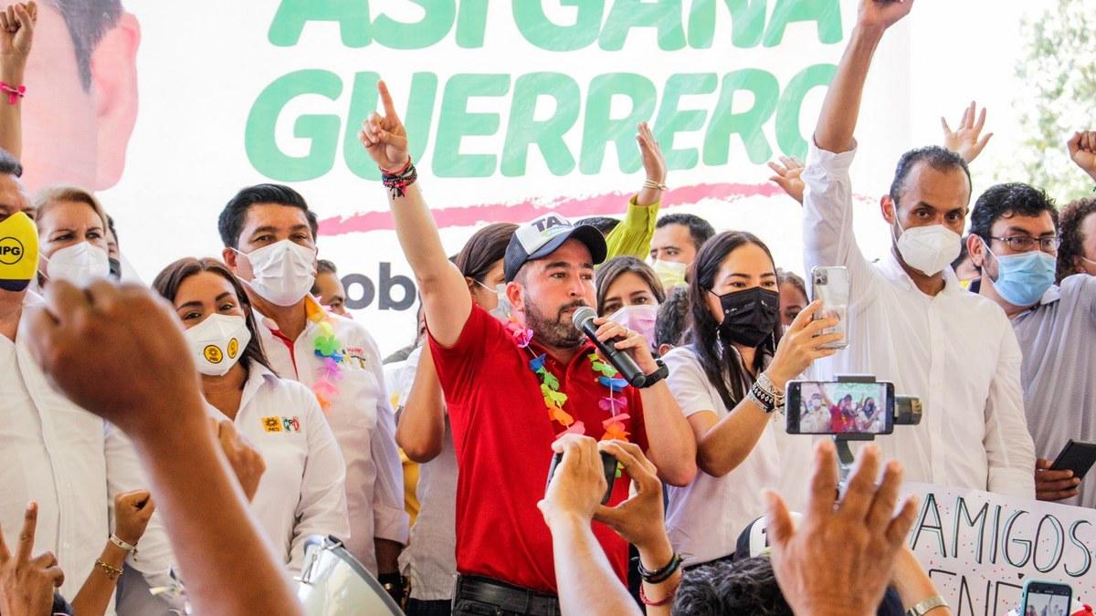 Ricardo Taja cierra campaña con enorme ventaja en los 7 distritos electorales de Acapulco 1