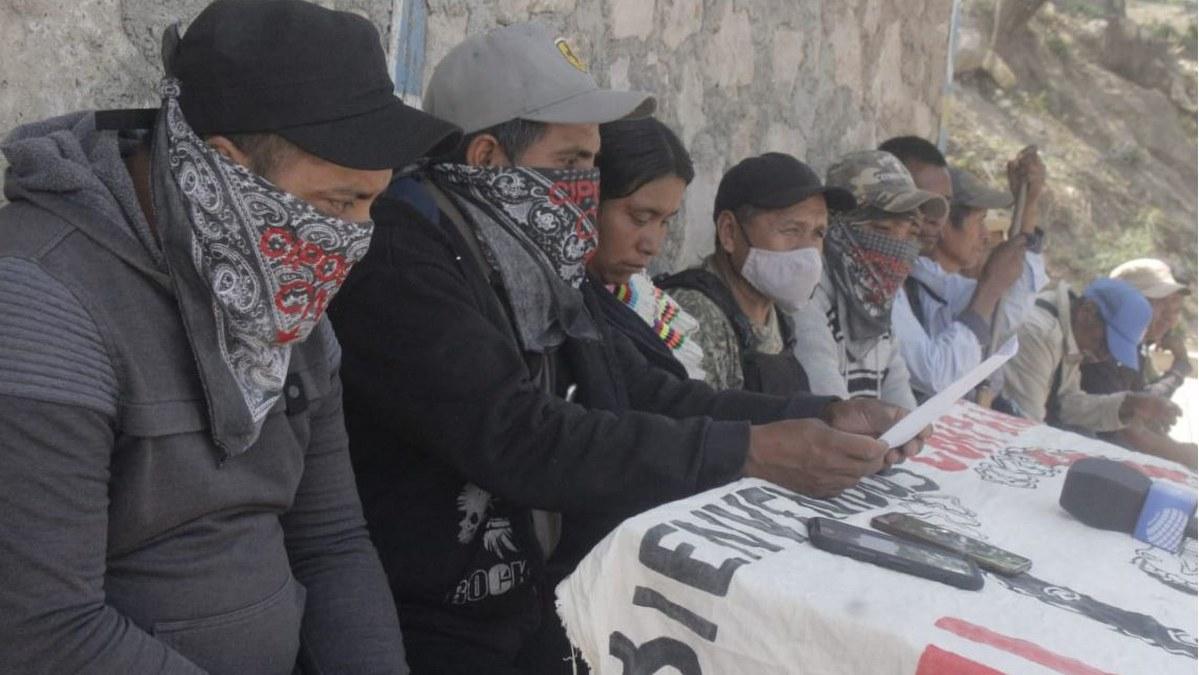Comunitarios bloquean en Chilapa y Hueycantenango; no permitirán elecciones 2