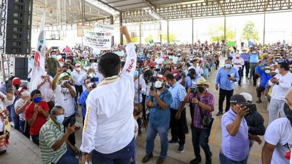Morenistas de Tierra Caliente se van con Mario Moreno; reconocen ventaja 1