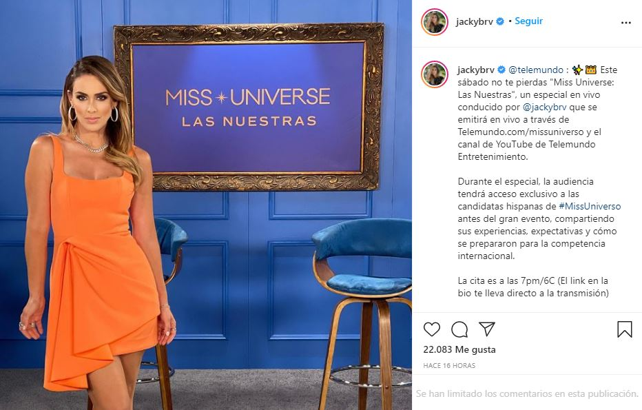 Jacky Bracamontes deslumbra con sensual vestido naranja   FOTO 1