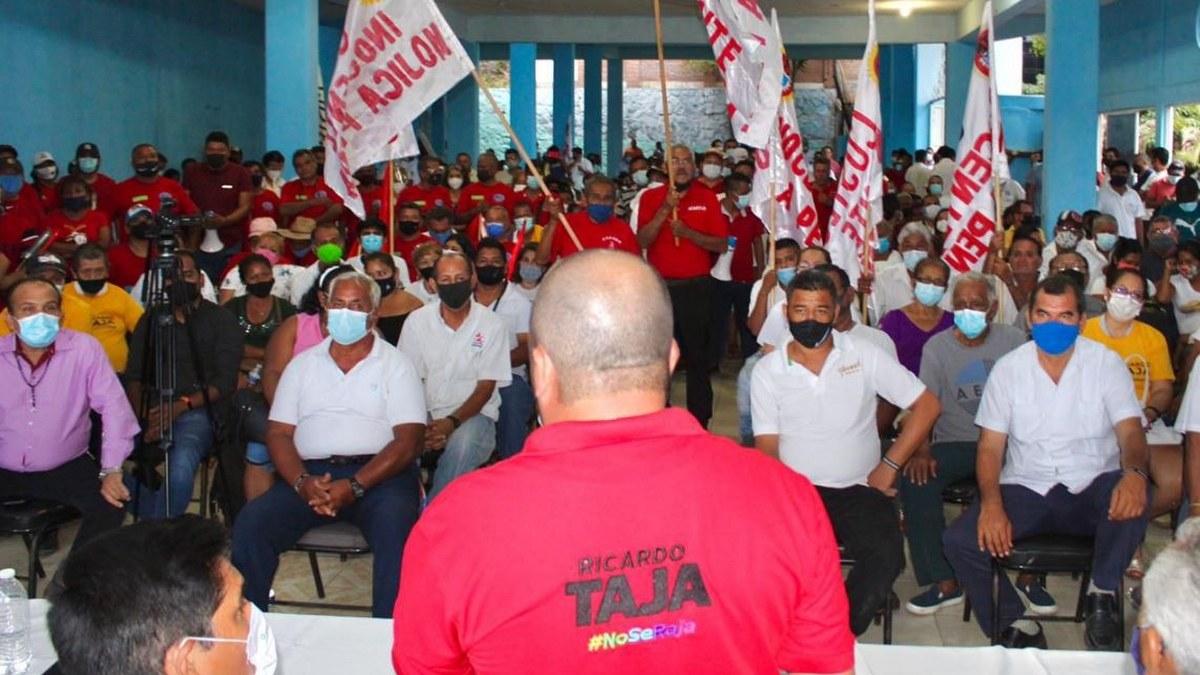Transportistas Grupo Sur respaldan la alianza PRI-PRD con Ricardo Taja y Mario Moreno 1