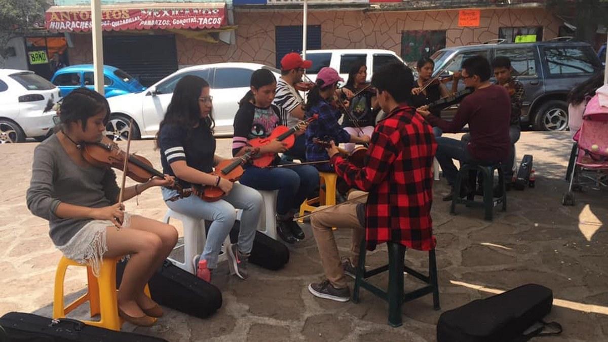 Olimpia Araceli Juárez, la mujer orquesta de Jóvenes Orquestas; un proyecto comunitario 5