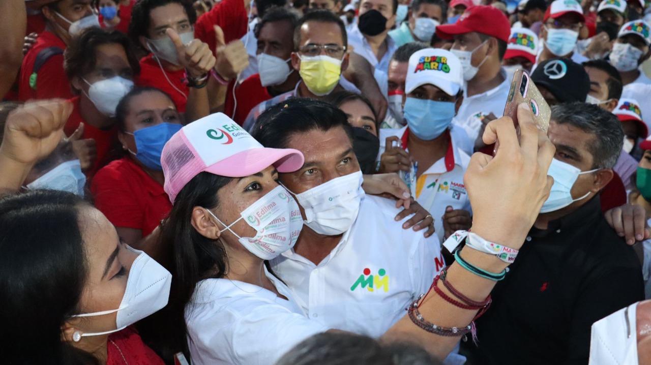 El 6 de junio hay una cita con la historia de Guerrero; Mario Moreno llama a los jóvenes a votar 6